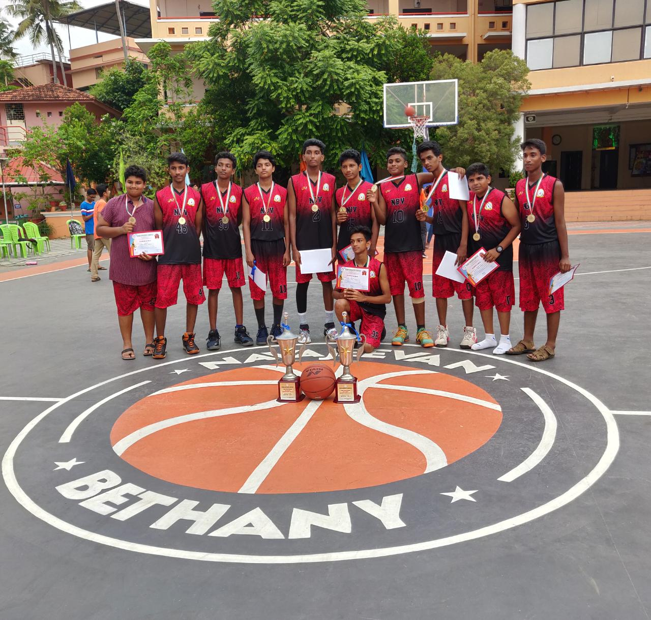 Venad Sahodaya  Interschool Basketball  Tournament