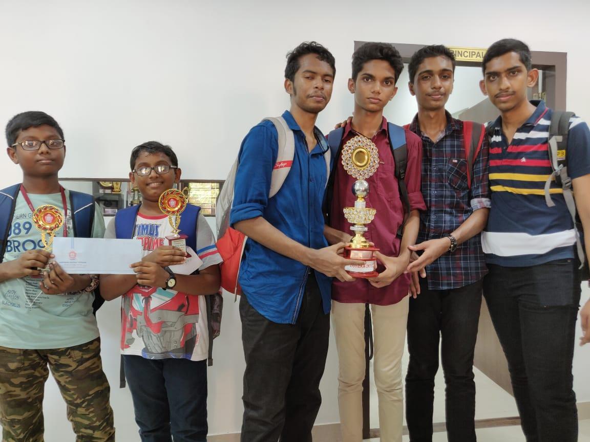Inter School Science Exhibition Eureka 2018