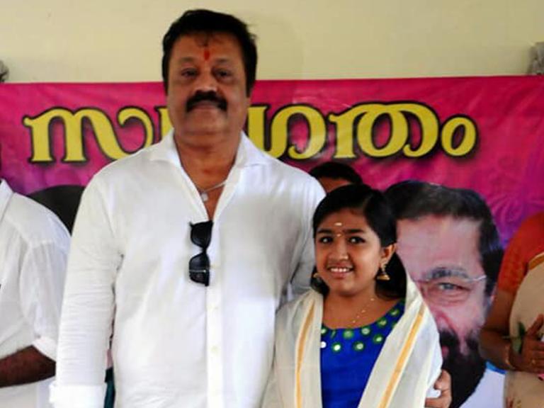 """Krishna won the 2nd position in """"Kuttypatturumal"""" on Kairali TV"""