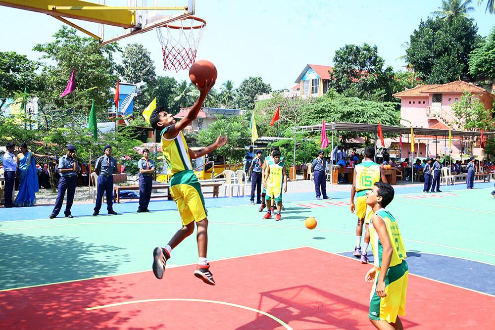 Inter School BasketBall Tournament